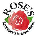 Logo of Roses Florist at Barleymows