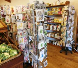 Greeting cards at Barleymows Farm Shop