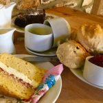 Cafe near Chard - Coffee and cake at Barleymows