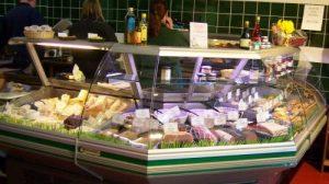 Barleymows Farm Shop Deli counter