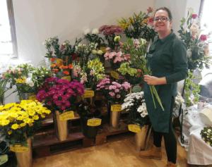 Wide selection of flowers, Barleymows, Chard