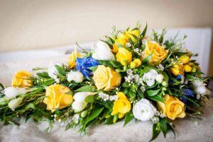 Floral tribute, florist, Chard