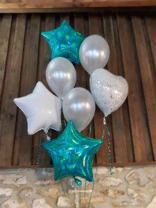 Helium balloons, Roses Florist, Barleymows, Chard