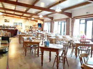 Spacious cafe near Chard