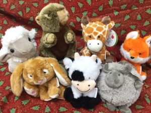 Soft toys and gifts